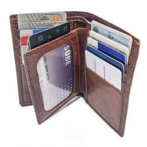 Porta Documento Billetera Cuero Hombre