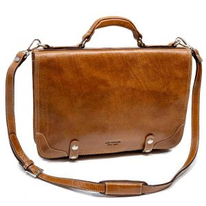 Leather Men Briefcase