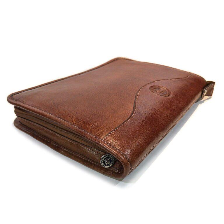 Carpetas de Cuero Porta Notebook Oficio