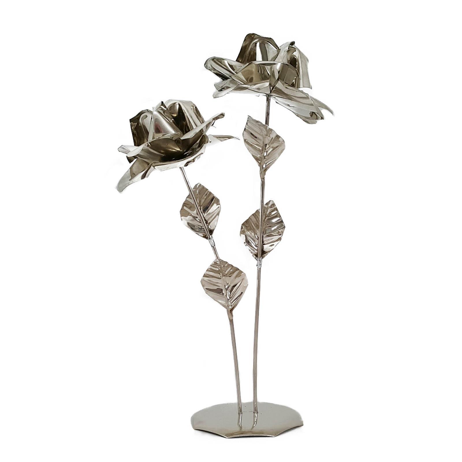Flor con base doble