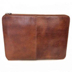 Carpeta de Cuero Porta Notebook