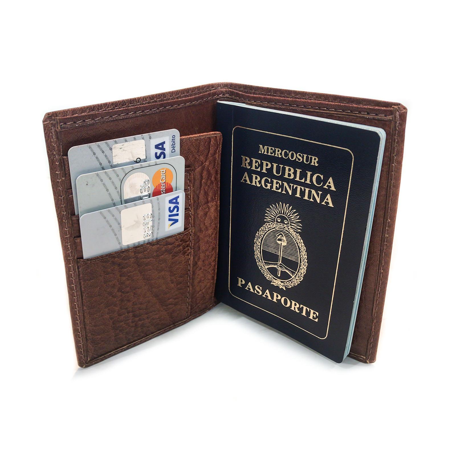 Porta Pasaporte Organizador Personal