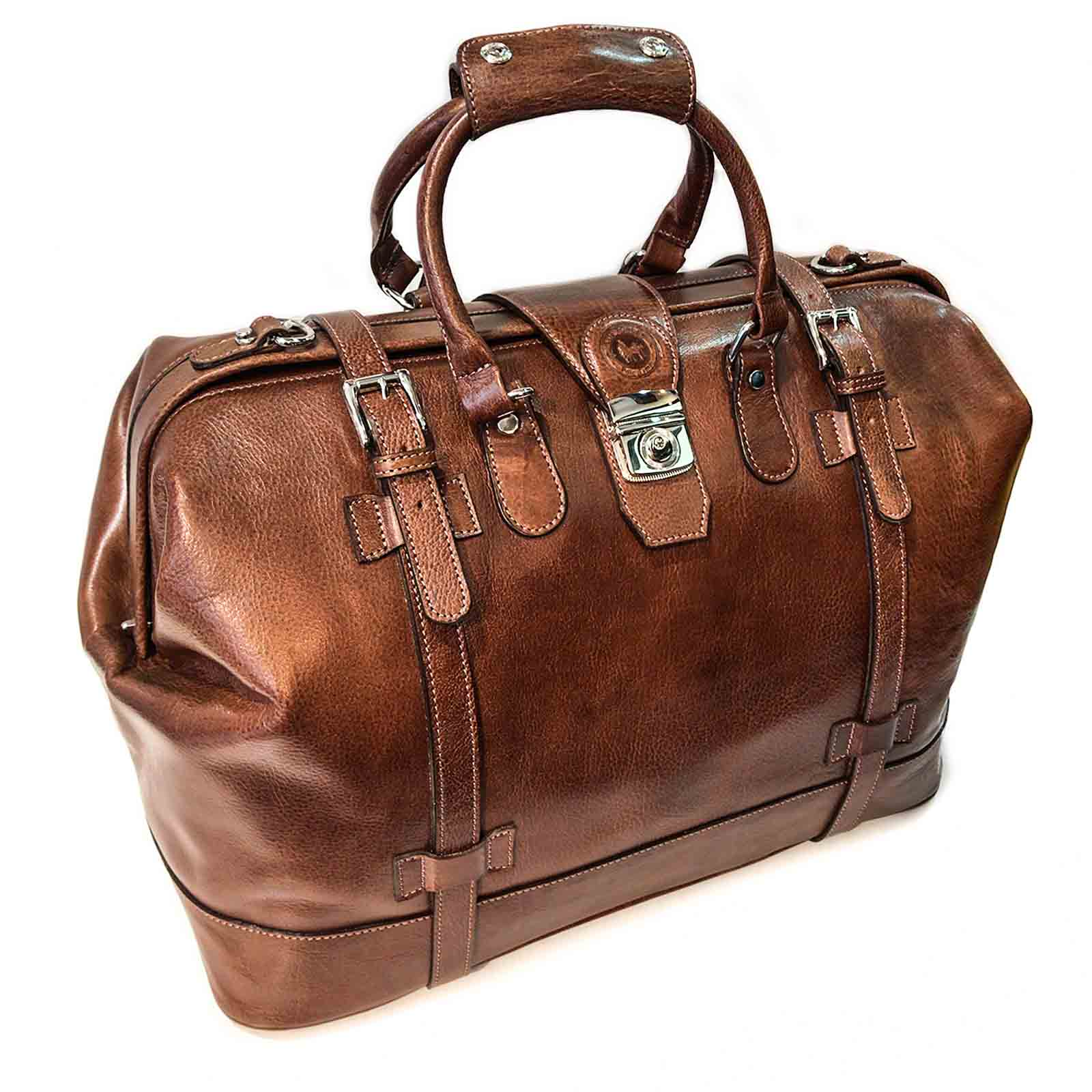 Leather Travel Bag