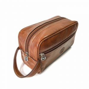 Leather Toiletry Bags