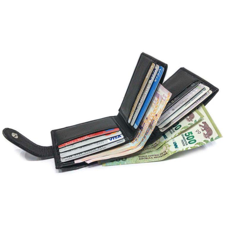Billeteras de Cuero Hombre