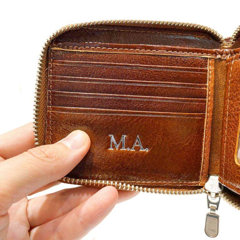 Billeteras Personalizadas Hombre Cuero Con Cierre